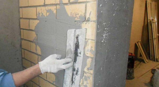 Как проводится черновая отделка стен