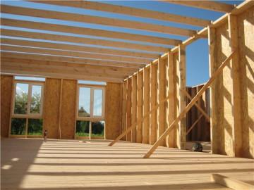Как самостоятельно построить каркасный дом