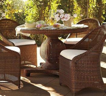 Какой бывает садовая мебель