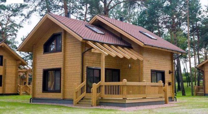 Проекты домов из бревна. Поживите с уютом.