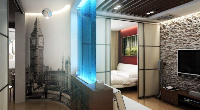 Ремонт квартиры-студии: идеи