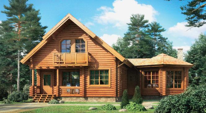 Удаление трещин с поверхности деревянного дома