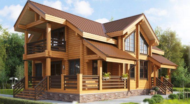 Особенности строительства домов из бруса
