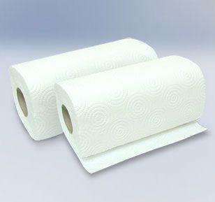 Листовые и рулонные бумажные полотенца