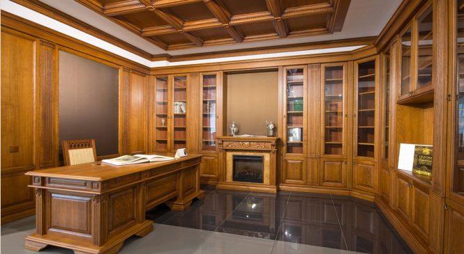 Офисная мебель и кабинеты из массива